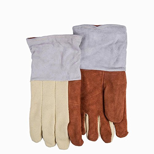 General high temperature gloves welding gloves wear - resistant fire - resistant fire - retardant insulation security protection labor insurance products by LIXIANG