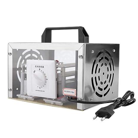 DGTRHTED Generador de ozono - Máquina de desinfección de ozono para el hogar purificador de Aire