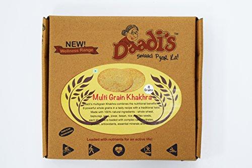 Daadi's Multigrain Khakhra, 200g (Pack of 2)