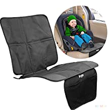 Auntwhale Baby Infant Kids Children Car Booster Seat Protector Easy Clean Safety Non-Slip Mat Cover