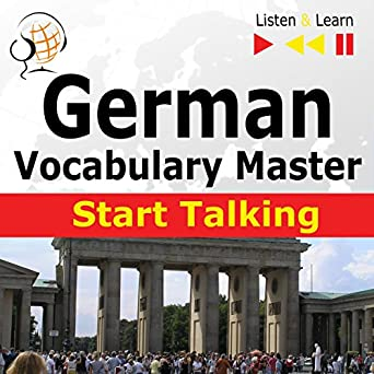 Amazon com: German Start Talking - Vocabulary Master  30 Topics at