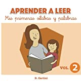 img - for Aprender a leer. Mis primeras s labas y palabras: Volumen 2 (Volume 2) (Spanish Edition) book / textbook / text book