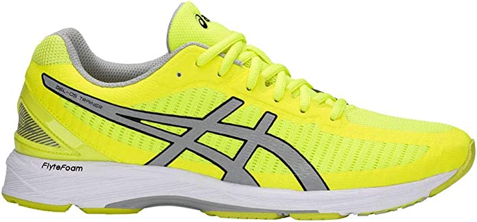 ASICS Men's Gel DS Trainer 23 Safety YellowMid GreyWhite