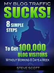Who Else Wants to Get 100,000 Visitors to Their Blog?Tired of getting NO blog traffic? Hate when you write great posts that nobody reads?  Want a REALISTIC, step-by-step plan for traffic generation?Getting blog traffic doesn't have to be hard...