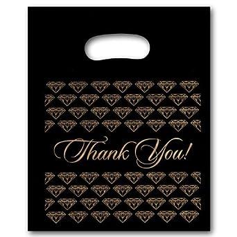 Amazon.com: Plástico joyería bolsas de regalo bolsa de ...
