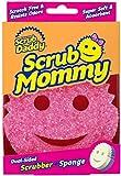 Scrub Daddy, Scrub Mommy - Dual Sided Sponge & Scrubber, Soft in Warm...