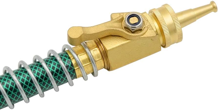 Solid Brass,Great for Cleaning Car Siding Driveway,2 Pack HYDRO MASTER 0712801 Brass Garden Sweeper Nozzle