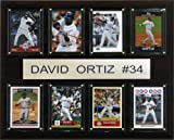 : MLB David Ortiz Boston Red Sox 8 Card Plaque