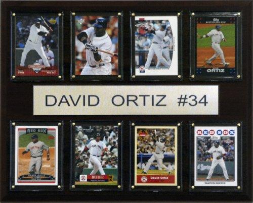 Red Sox Plaque Boston - MLB David Ortiz Boston Red Sox 8 Card Plaque
