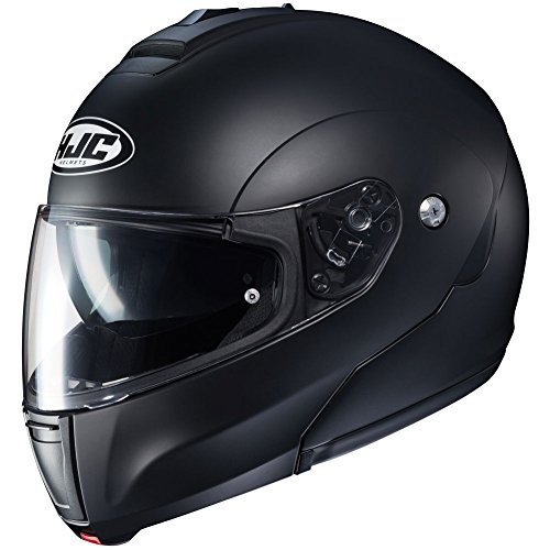 HJC Helmets Solid Men's CL-MAX 3 Modular Street Motorcycle Helmet - Semi Flat Black/X-Large