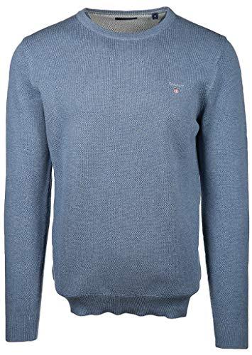 GANT Herren Cotton Pique Crew Pullover