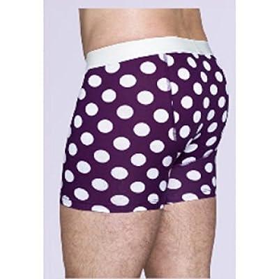 Happy Socks - Men's Big Dot Boxer Briefs
