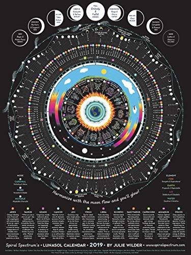 - 2019 Spiral Spectrum's LunaSol Calendar - Astrology / Astronomy