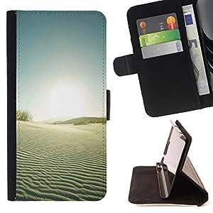 Momo Phone Case / Flip Funda de Cuero Case Cover - El desierto de Gobi - Sony Xperia M2