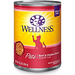 Wellness Natural Wet Canned Cat Food, Pack Of 12