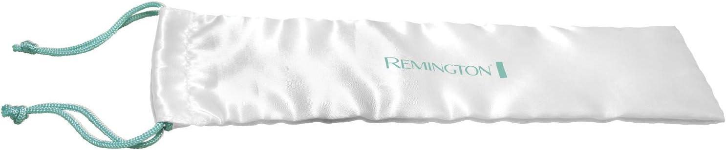 Remington S8500 Fer à Lisser, Lisseur Céramique Avancée Shine Therapy, Soin Huile Argan, Plaques Souples 110mm