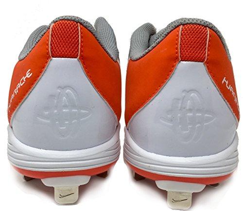Obscénité 2 Air white Orange Pro Nike En Grey Métal Wolf Basse nbsp;k Game Baseball Chaussures Huarache Crampons aIUZaxndqE
