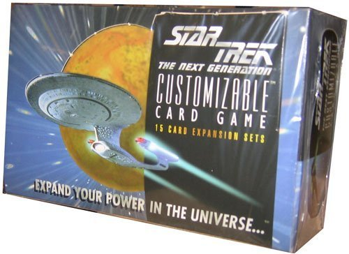 Star Trek Card Game - Beta (Premiere) Unlimited Edition Booster Box - - Star Booster Trek Pack