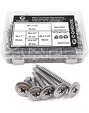 Comdox 410 Stainless Steel Self Drilling Screws Kit Set