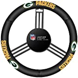 NFL Leather Steering Wheel Cover