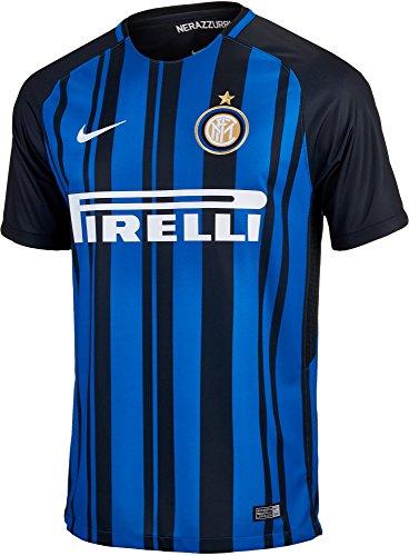 Inter Milan Soccer Jersey (Nike Breathe FC Inter Milan Stadium Jersey [BLACK] (M))