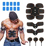 Best Muscle Stimulators - Abs Stimulator Muscle Toner, Portable Muscle Trainer, Abdominal Review