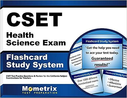 Get full cset health science exam flashcard study system: cset test p….