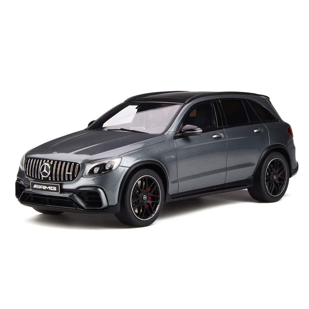 Color : Gray Mercedes GLC 63 S AMG Lega per Bambini Toy Car Model Boy Collection Gift KaKaDz 1:18 Mercedes