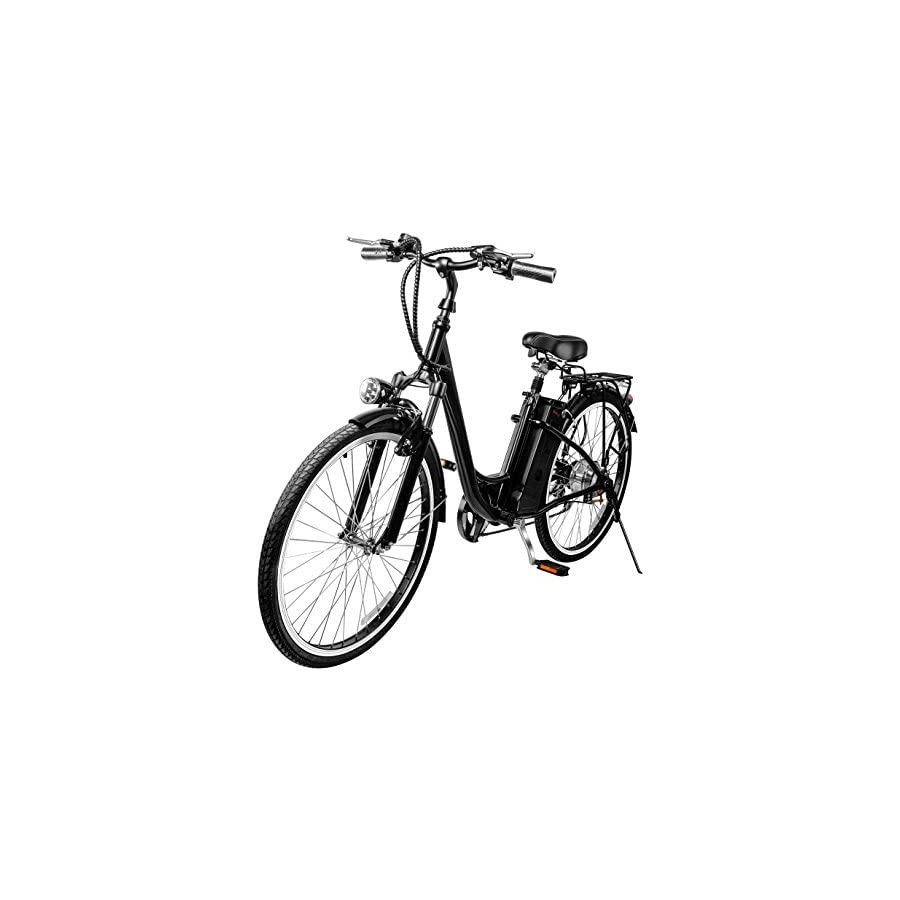 "VEEKO 26"" City Electric Bicycle Ebike with 36V 10Ah Lithium Battery"
