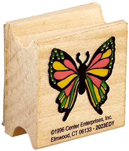 "Center Enterprise 2023EDY""Butterfly Stamp"" Wood Stamp"