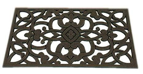 Iron Gate - Rubber Stud Doormat - Outdoor Mat 18