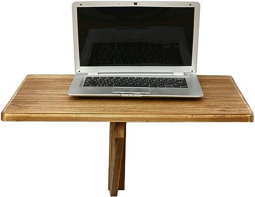 Escritorio de la computadora Mesa plegable Mesa de madera de ...