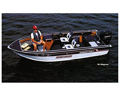 1990 Smoker-Craft 161 Magnum Power Boat Factory Photo
