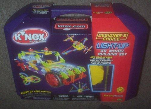 K'NEX 30 Model Designer's Choice Light-Up Set in Case (426 peices)