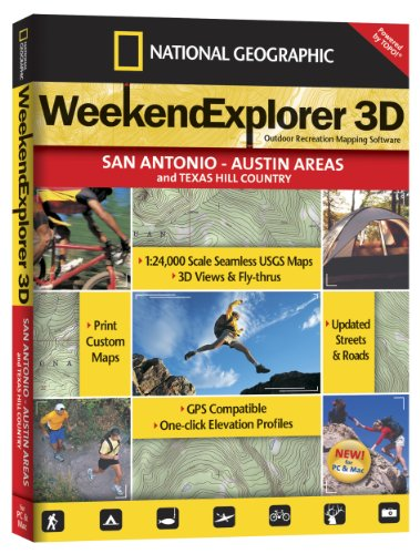 Weekend Explorer 3D - San Antonio - Austin Areas and Texas Hill - San Shopping Antonio Outlets
