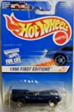 Hot Wheels 1998-638 First Edition BLUE CARD 6 of 48 Jaguar D-type 30 Years 1:64 Scale 1:64 Scale