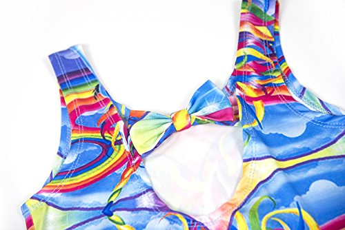 2eeecffe0d Wenge Girls Rainbow Unicorn Swimsuit Baby Unicorn Print Swimsuit-One Piece  Swimwear Bathing Suit Bikinis