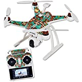 Skin For Blade Chroma Quadcopter – Crazy Tikis | MightySkins Protective, Durable, and Unique Vinyl Decal wrap cover | Easy To Apply, Remove, and Change Styles | Made in the USA