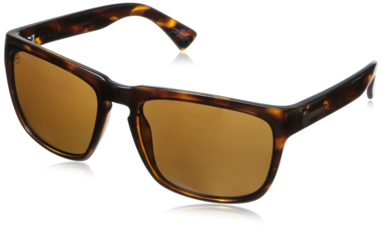 Electric Visual Knoxville Gloss Tortoise/Polarized Bronze Sunglasses