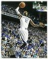 John Wall Signed Autograph Kentucky Wildcats 8x10 Photo #11 vertical white jersey dunk- BAS-Beckett Authentic