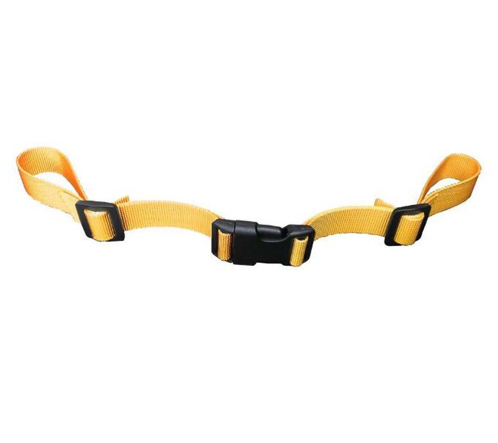 Black Temptation Bolso de la Escuela de los niños Hebilla de cinturón Reducir la Carga Cinturón Antideslizante-Naranja