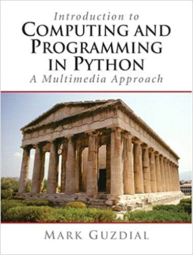 Computing & Programming in Python by Mark Guzdial