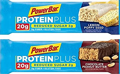 Powerbar Protein Plus 20g, Chocolate Peanut Butter, 2.12-Ounce Bars (Pack of 15) Limited Edition