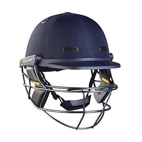Masuri Vision Series ELITE Cricket Helmet Steel Grille (Green,Large Mens) by Masuri by Masuri
