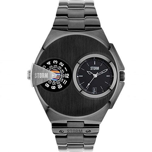 Storm London DUALMATIC 47247/SL Reloj de Pulsera para hombres Segundo Huso Horario: Amazon.es: Relojes