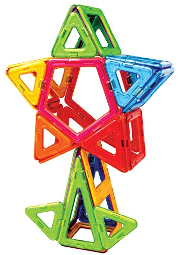 51gKkih0F7L - Magformers Smart Set (144-piece ), Deluxe Building Set. magnetic building blocks, educational magnetic tiles, magnetic building STEM toy set