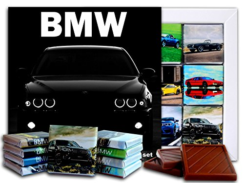 DA CHOCOLATE Candy Souvenir BMW Chocolate Gift Set 5x5in 1 box (Black -