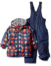 0ae6c90d2cc66 Baby Boys & Toddler Insulated Two-Piece Snowsuit