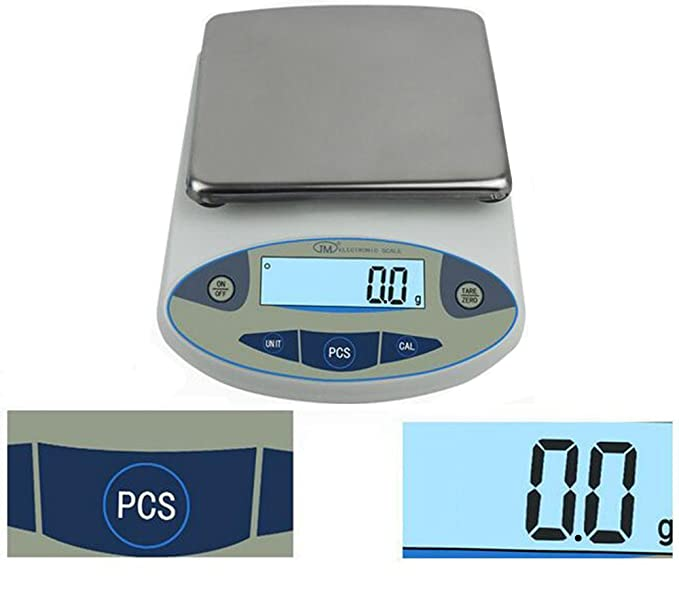 Amazon.com: Large Range Lab Digital Precision Analytical Electronic Balance Lab Scale Precision Jewelry Scales Kitchen Precision Weighing Electronic Scale ...