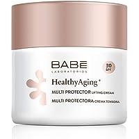 Laboratorios Babé - Multi Protectora| HealthyAging+ | Antiarrugas | Crema Facial Hidratante Protectora Spf30 50 ml